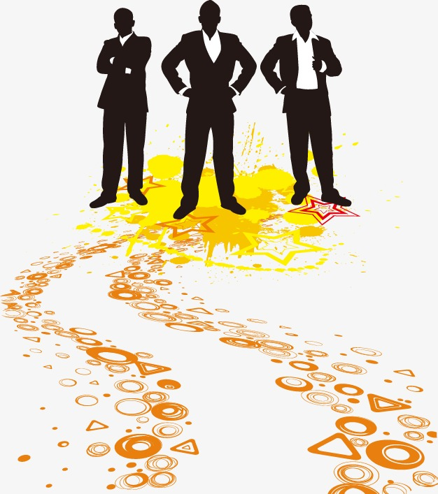 626x707 Silhouette Business People,the Three Pillars, Sketch, Business