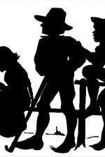 150x225 Silhouettes Of People ~ Karen's Whimsy