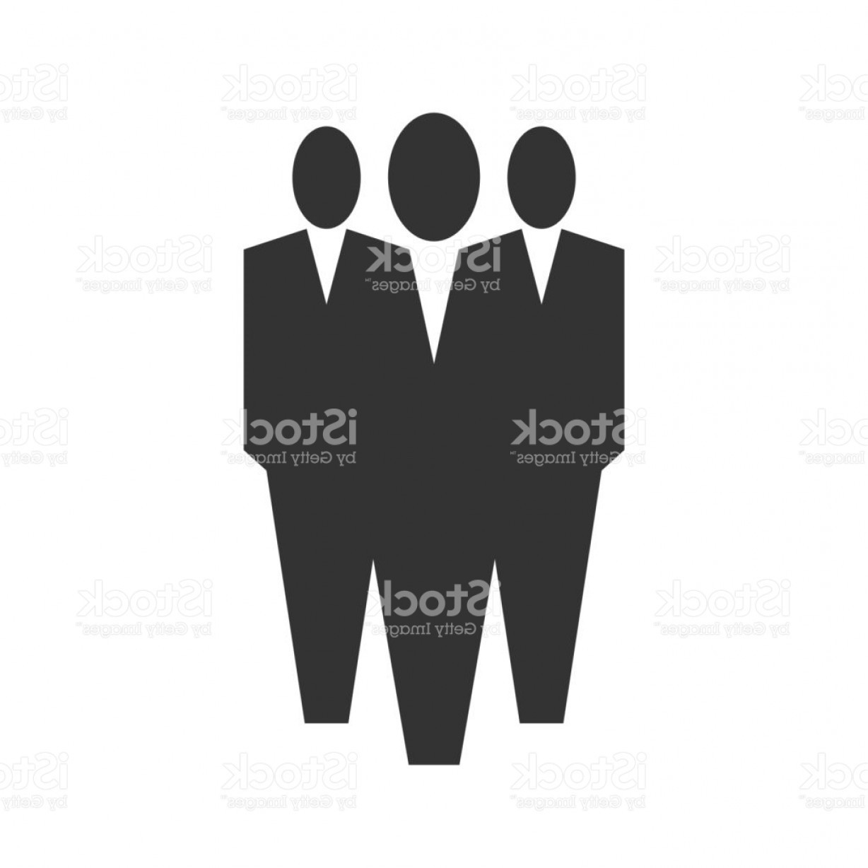 1228x1228 Vector Silhouette Three Men Shopatcloth