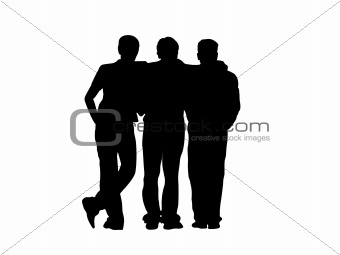 340x255 Image 1217545 Three Frends From Crestock Stock Photos