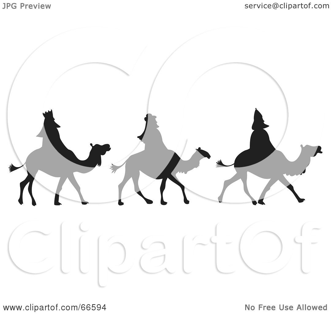 1080x1024 Royalty Free (Rf) Clipart Illustration Of The Three Silhouetted