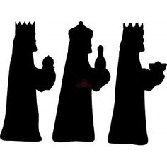 236x236 Stained Glass Nativity Silhouette Let Each Of Our 4 Kids Do