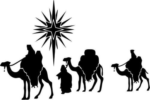 500x334 Car Styling For Three Wise Men Religion For Car Window Truck