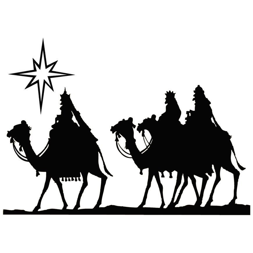 870x870 Vintage Wisemen Art Wisemen On Camels Christmas