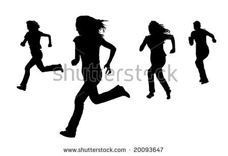 450x309 Running Silhouette