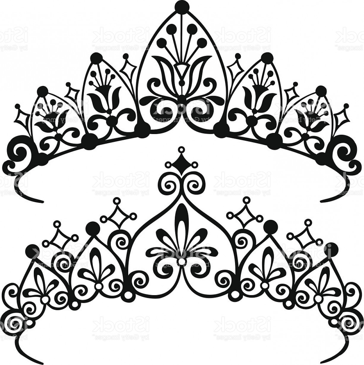 1226x1228 Princess Tiara Crowns Silhouette Vector Illustration Gm Createmepink
