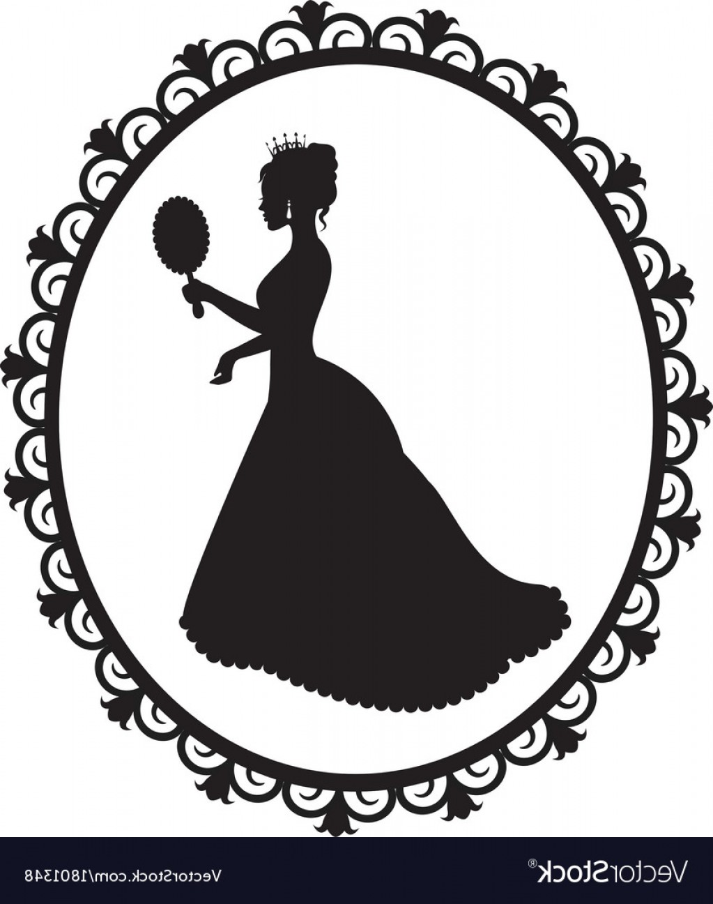 1023x1296 Vector Black And White Flower Tiara Arenawp