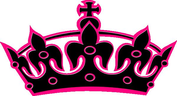 600x324 Pink Tilted Tiara Clip Art