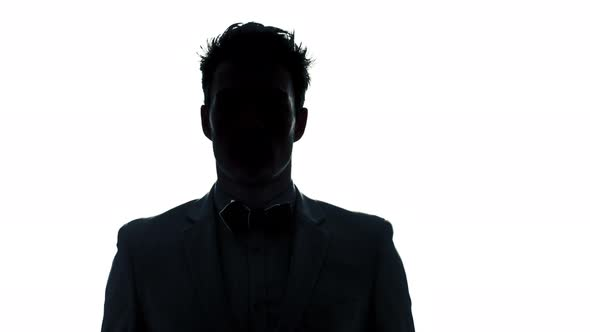 590x332 Well Dressed Young Man With A Classic Bow Tie In Silhouette By Aetb