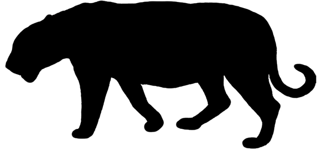 638x300 Chinese Tiger Head Silhouette
