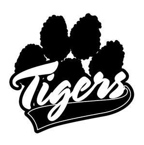 298x300 Tiger Paw Design Tigers Paw Print Silhouette Cameo Project