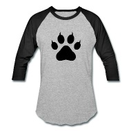 190x190 Tiger Paw Silhouette By Shabzdesigns Spreadshirt