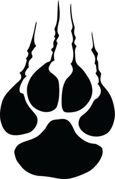 236x368 Cougar Paw Print Silhouette Clip Art. Download Free Versions