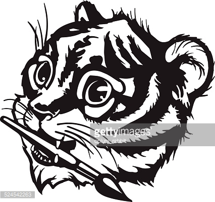 426x402 Tiger Mouth Clipart Collection
