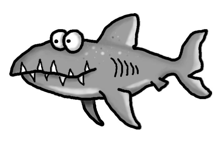 714x470 Tiger Shark Clipart