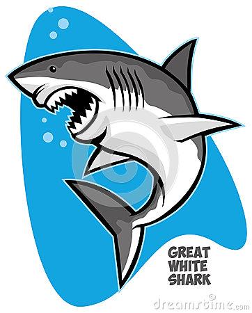 362x450 Great White Shark Clipart Vector