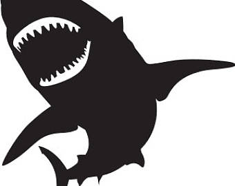 340x270 Great White Shark Svg, Download Great White Shark Svg