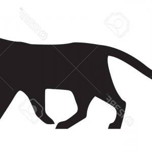 300x300 Panther Puma And Tiger Animal Silhouette Vector Createmepink