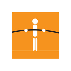 240x240 Tightrope Walker Photos, Royalty Free Images, Graphics, Vectors
