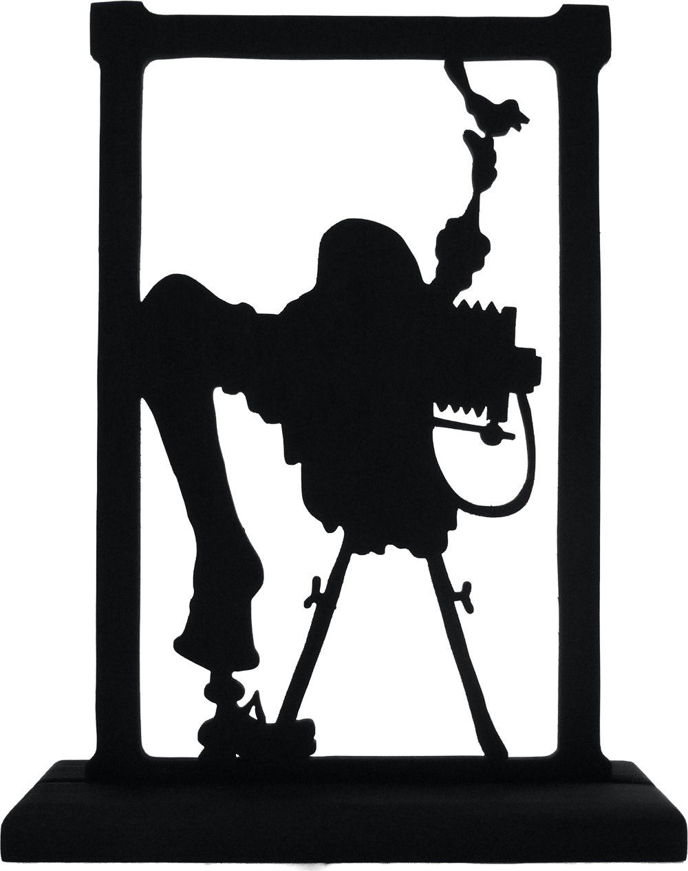 1000x1265 Old Time Photographer Handmade Wood Display Silhouette
