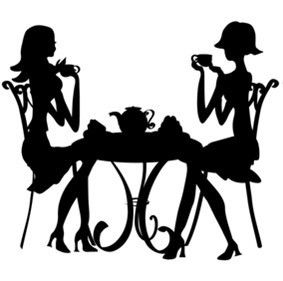 283x281 Pin By Jamie Callich On Redwork Silhouette, Tea Cup