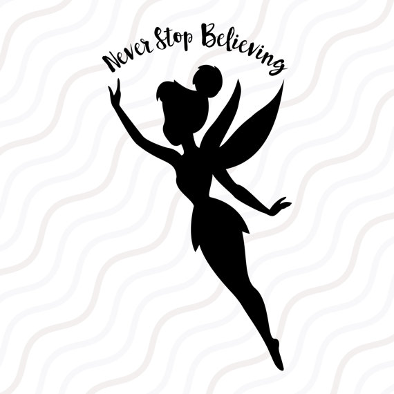 570x570 Tinkerbell Svg Tinkerbell Dxf Tinkerbell Silhouette Svg Cut