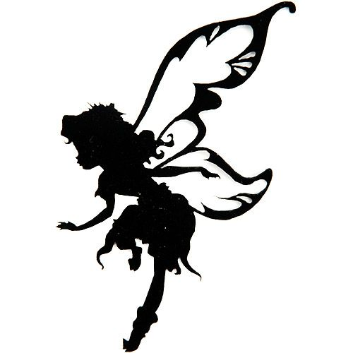 500x500 9 Best Images Of Printable Fairy Silhouette