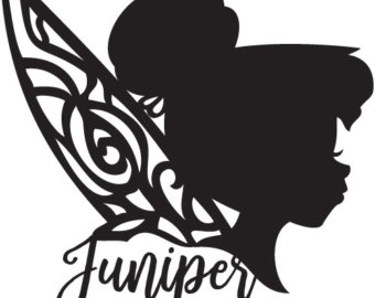 Tinkerbell Silhouette Images At Getdrawings Com Free For