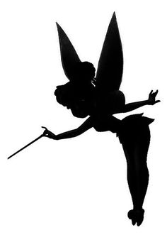 236x331 Disney Silhouettes Have This Tinkerbell That I Saved