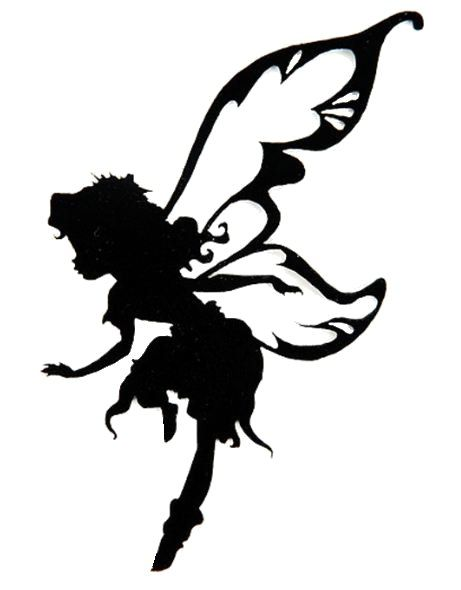 461x590 Fairy, Punch Art And Silhouettes