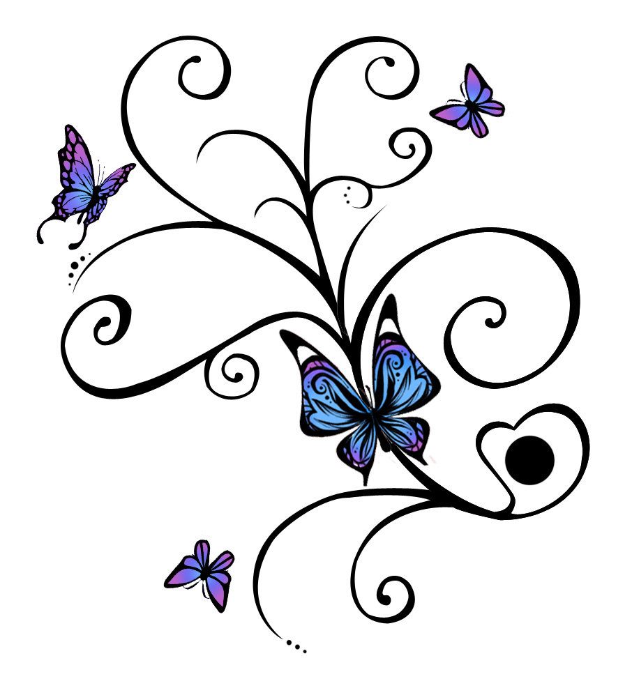 906x987 Collection Of Fairy On Moon Silhouette Tattoo Stencil
