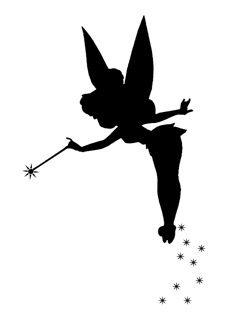 230x319 Disney Silhouettes Have This Tinkerbell That I Saved