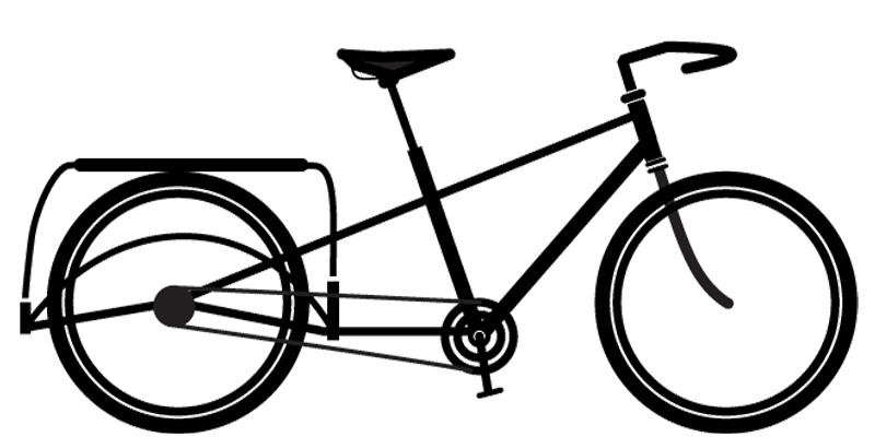 800x400 Periera Cargo Bike Silhouette, For The Bike Tire Pressure App