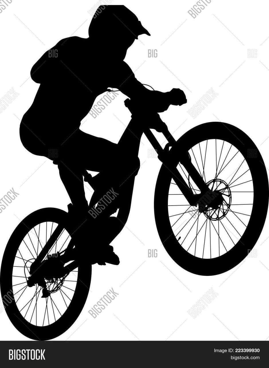 939x1280 Rhshutterstockcom Cyclist Mountain Bike Tire Silhouette On Vector