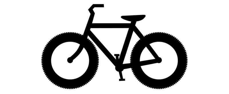 800x331 Fat Bike Silhouette Mugs By Fontnerd Redbubble