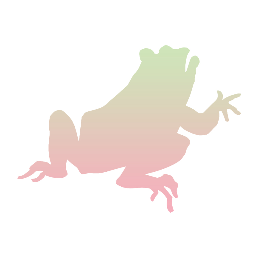 864x864 Frog Toad Bullfrog Decal Sticker Choose Pattern + Size