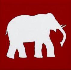 236x233 Roll Tide Elephant Clipart