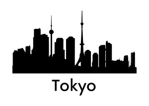 300x213 Tokyo City Paintings
