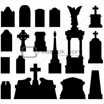 340x340 Image 1712269 Tombstones And Grave Monuments In Vector