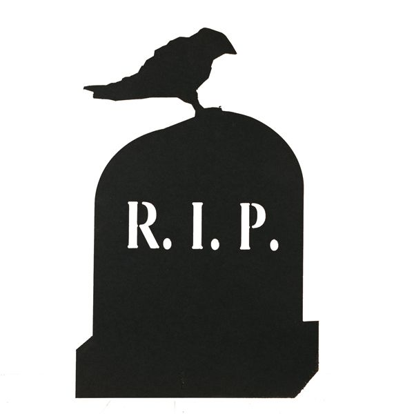600x600 Tombstone Silhouette