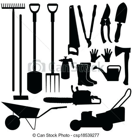 450x470 Free Garden Tools Garden Tools On Shelves Sketch For Your Design