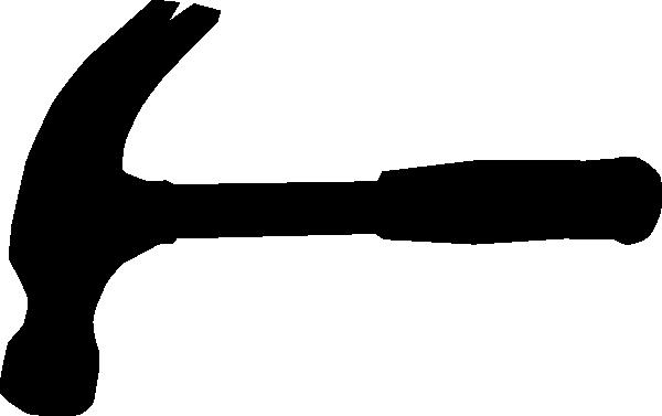 600x377 Hammer Silhouette Clip Art