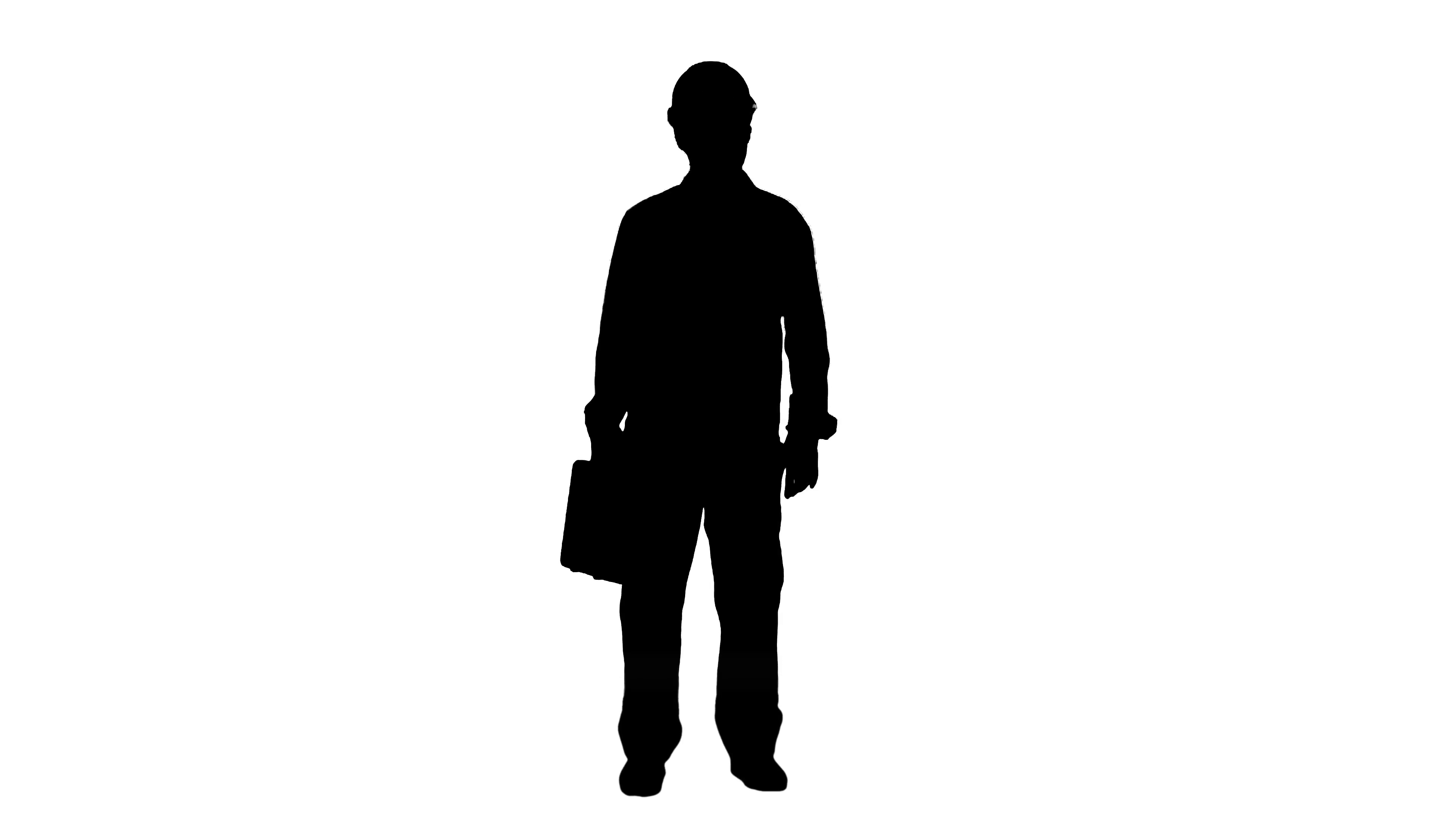 3840x2160 Silhouette Handyman Prepared For Any Eventuality Shows Tools
