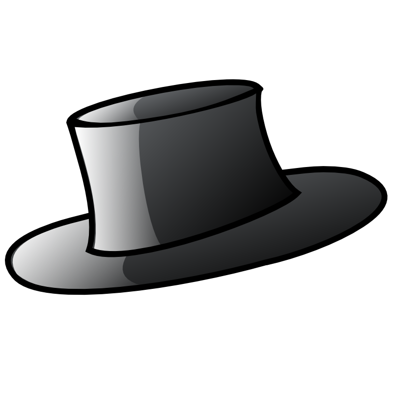 800x800 Man In Top Hat Silhouette Images Pictures