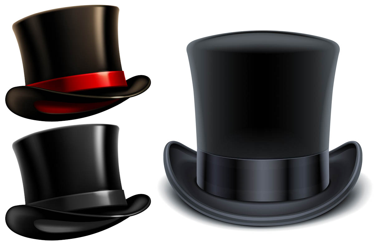 1200x800 Top Hat Vector Vector Design Art