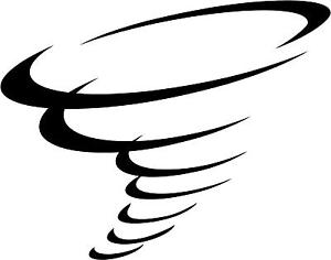 300x236 Tornado Decal 8x10 Choose Color! Vinyl Sticker Ebay