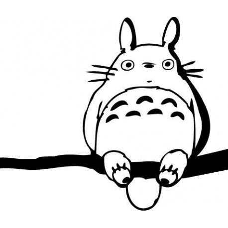 Totoro Silhouette