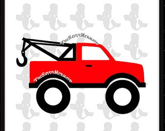 340x270 Tow Truck Svg File Etsy