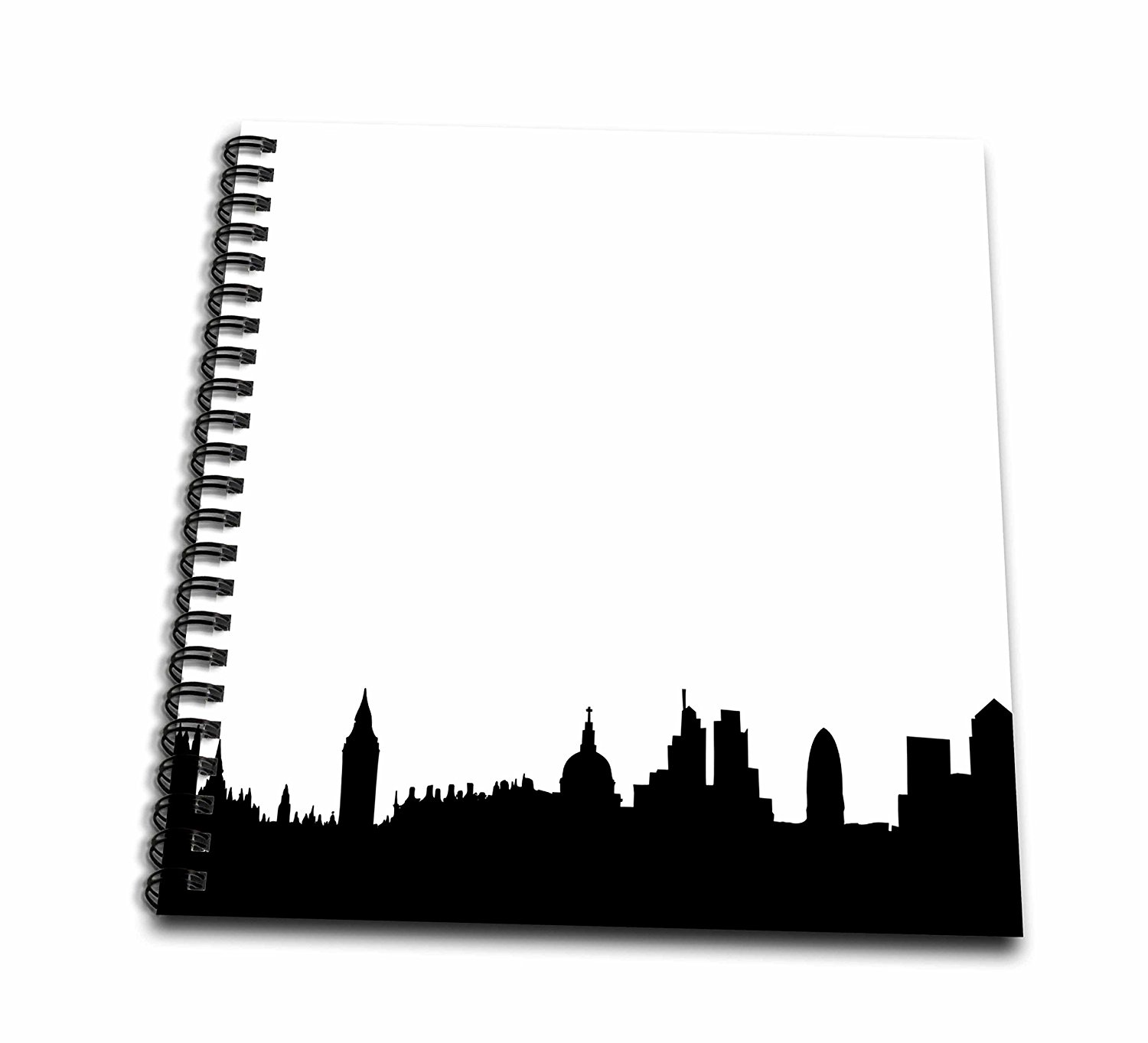 1500x1363 Buy Kappier Black And White London Skyline Silhouette