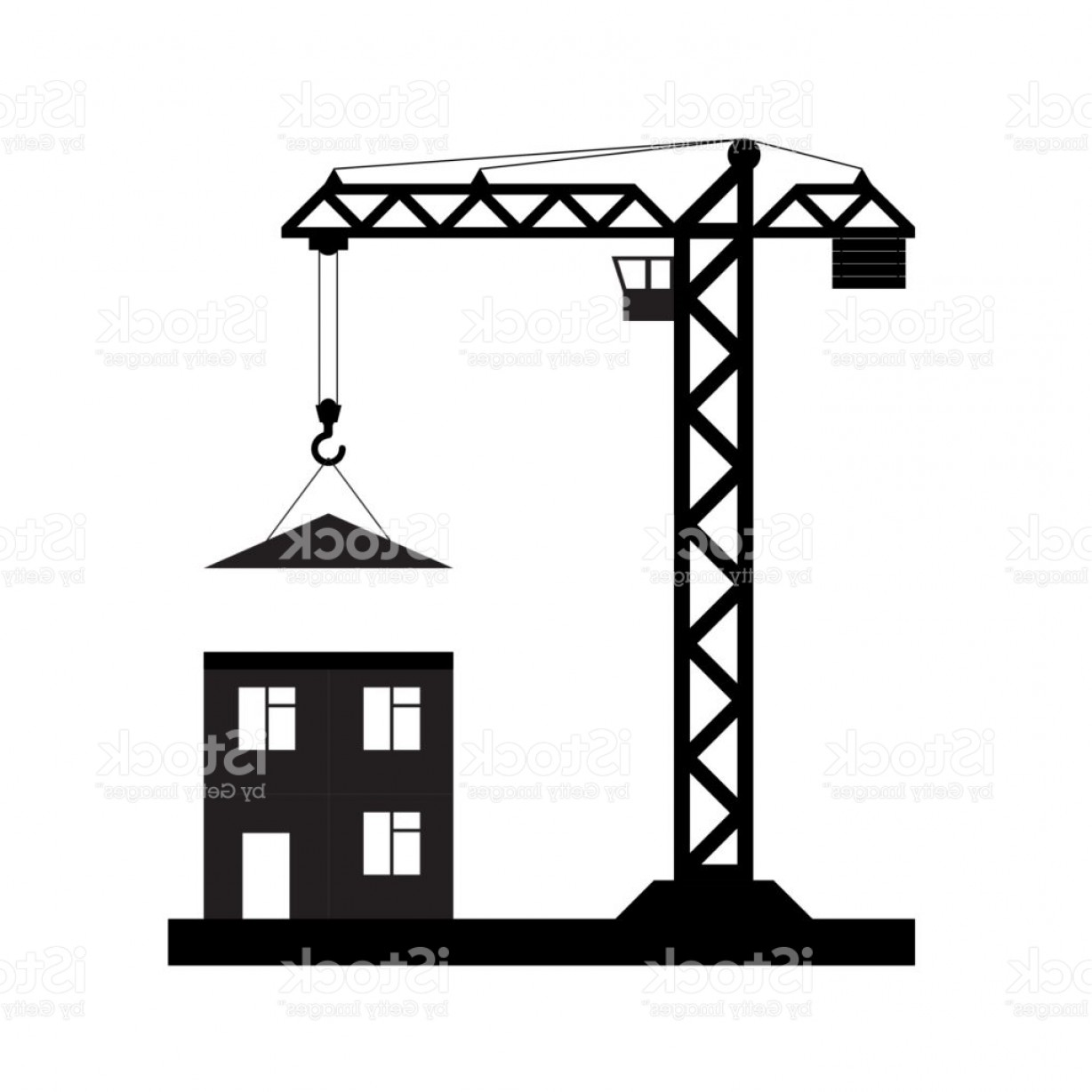1228x1228 Construction Crane Vector Clip Art Arenawp